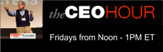 The CEO Hour Homepage Banner